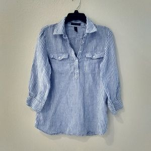 Ralph Lauren Broadcloth Blouse